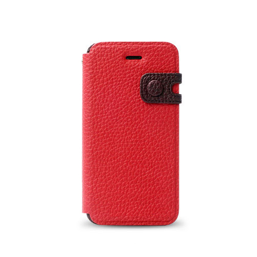 iPhone SE/5s/5 ケース Masstige Color Edge 手帳型ケース iPhone SE/5s/5 ワインレッド_0