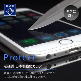 【iPhone SE/5s/5フィルム】[0.22mm]画面保護強化ガラス スタンダードナチュラルクリアタイプ iPhone SE/5s/5_4