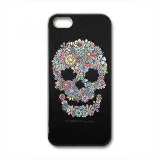 CollaBorn Flower Skull iPhone SE/5s/5ケース
