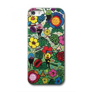 [PUNK DRUNKERS] CollaBorn iPhone SE/5s/5用ブランドコラボケース フラワー