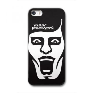 iPhone SE/5s/5 ケース [PUNK DRUNKERS]CollaBorn iPhone SE/5s/5用ブランドコラボケース あいつ 白黒