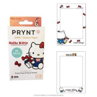 PRYNT POCKET用プリント用紙40枚 ハローキティバージョン フレーム B【3月下旬】