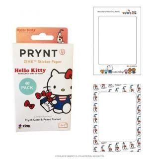 PRYNT POCKET用プリント用紙40枚 ハローキティバージョン フレーム C