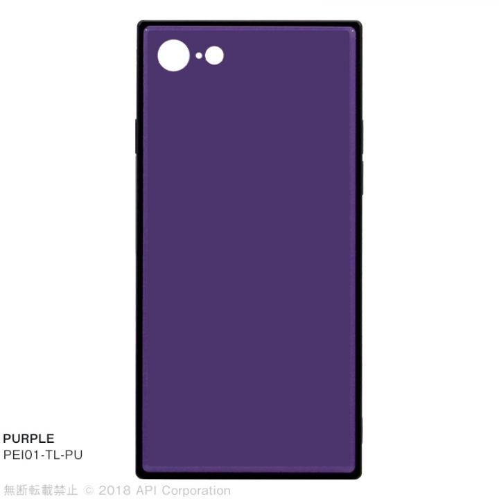 iPhone8/7 ケース EYLE TILE iPhoneケース パープル iPhone SE 第2世代/8/7_0
