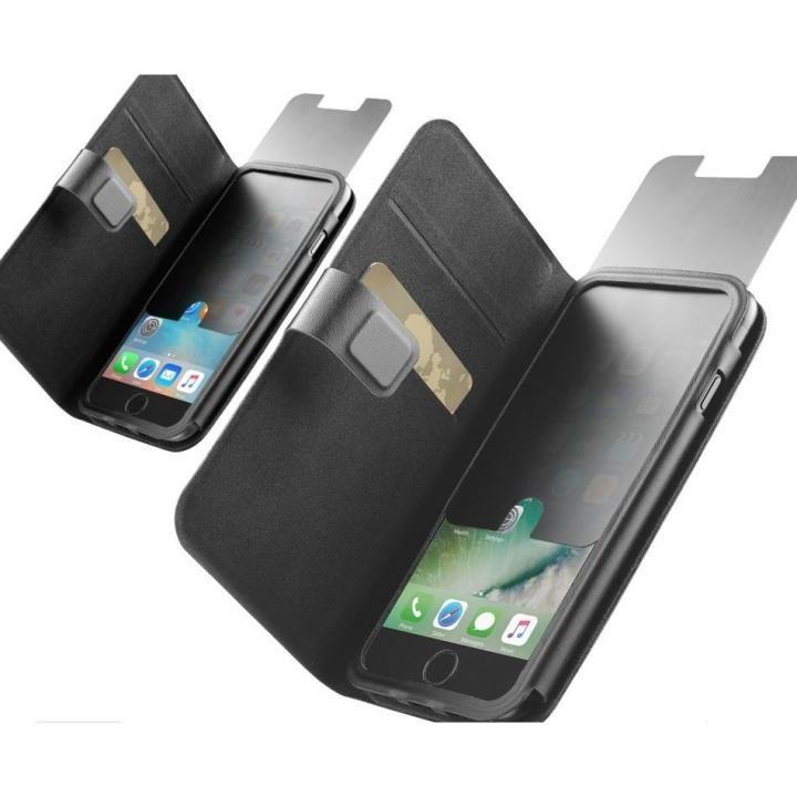 【iPhone8/7ケース】Cellularline 手帳型覗き見防止ケース TopSecret iPhone 8/7_0
