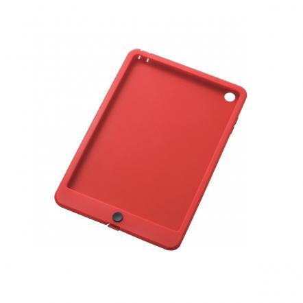 iスムースシリコンケース レッド  iPad mini/2/3ケース