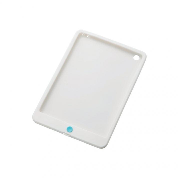 iスムースシリコンケース ホワイト  iPad mini/2/3ケース_0