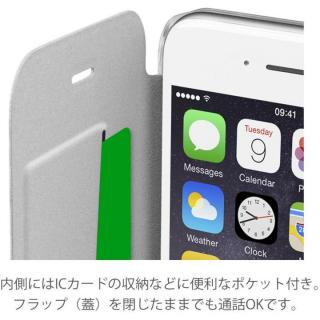 【iPhone6/6sケース】背面クリア手帳型ケース Clearbook ローズゴールド iPhone 6s/6_2