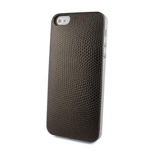 Ssongs BubblePack Play レザーケース Lizard Gold iPhone SE/5/5s