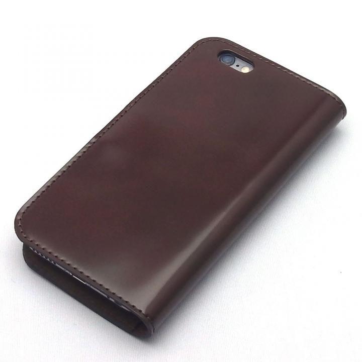 iPhone8/7 ケース コードバン・レザー手帳型ケース ブラウン iPhone 8/7_0