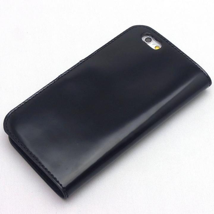 iPhone8/7 ケース コードバン・レザー手帳型ケース ブラック iPhone 8/7_0