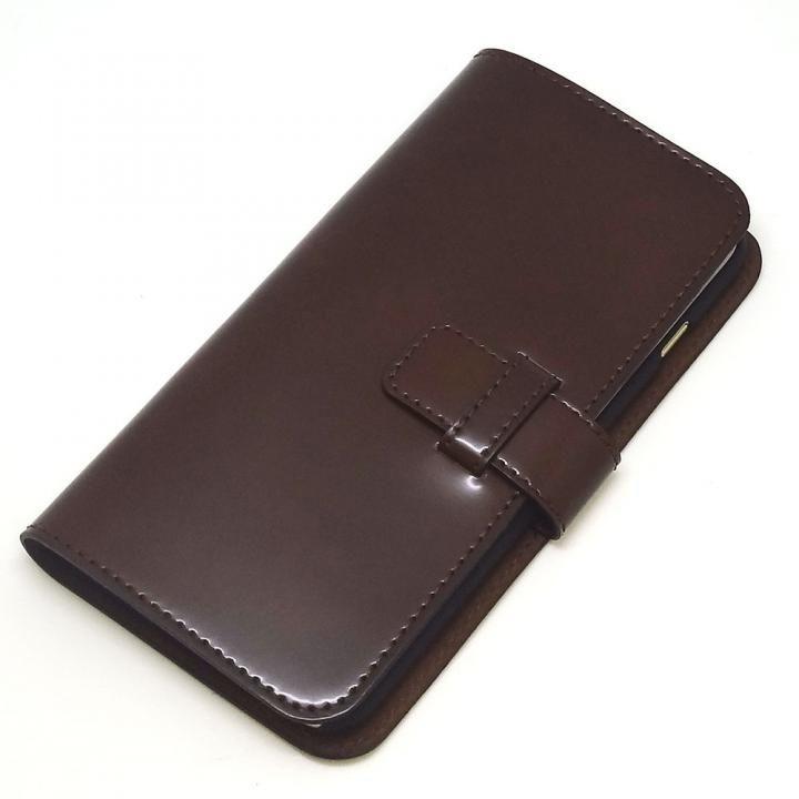 iPhone8 Plus/7 Plus ケース コードバン・レザー手帳型ケース ブラウン iPhone 8 Plus/7 Plus_0