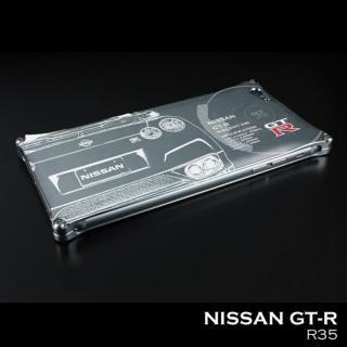 iPhone SE/5s/5 ケース 「日産(NISSAN) GT-R × GILD design」 ジュラルミンケース R35 iPhone SE/5s/5