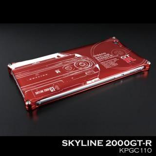 【iPhone SE ケース】「日産(NISSAN) GT-R × GILD design」 ジュラルミンケース ケンメリ iPhone SE/5s/5