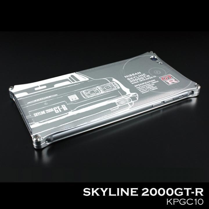 【iPhone7ケース】「日産(NISSAN) GT-R × GILD design」 ジュラルミンケース ハコスカ iPhone 7_0