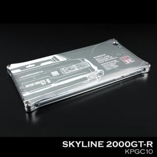 【iPhone SE/5s/5ケース】「日産(NISSAN) GT-R × GILD design」 ジュラルミンケース ハコスカ iPhone SE/5s/5