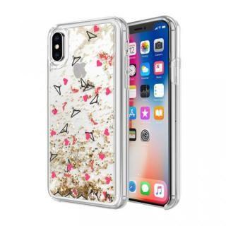 bf7841f60164 iPhone X ケース KENDALL+KYLIE(ケンダルアンドカイリー)グリッターケース ヒール/ハンガー iPhone X