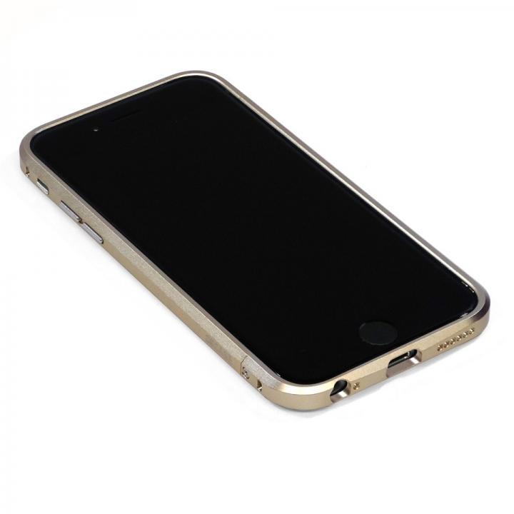 iPhone6 ケース 高精度アルミニウムバンパー CROY DECASE ゴールド iPhone 6_0