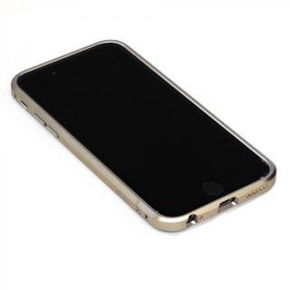 高精度アルミニウムバンパー CROY DECASE ゴールド iPhone 6