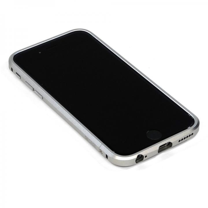 iPhone6 ケース 高精度アルミニウムバンパー CROY DECASE シルバー iPhone 6_0