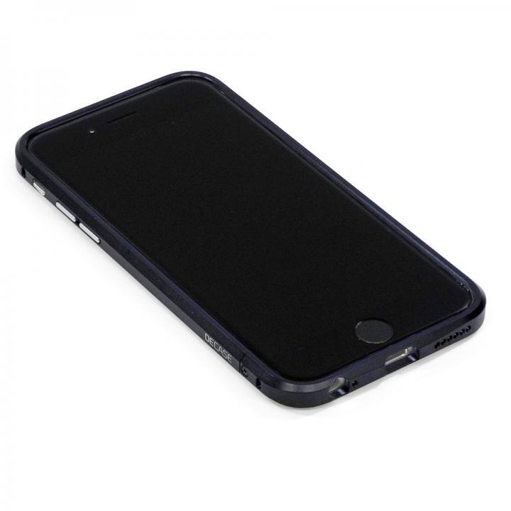 【iPhone6ケース】高精度アルミニウムバンパー CROY DECASE ブラック iPhone 6_0