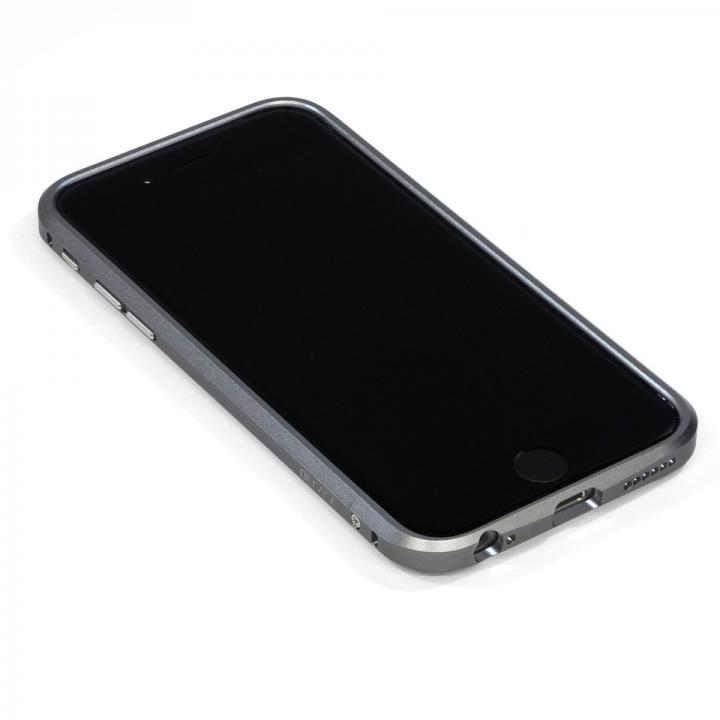 高精度アルミニウムバンパー CROY DECASE グレー iPhone 6 Plus