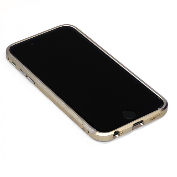 iPhone6 Plus ケース 高精度アルミニウムバンパー CROY DECASE ゴールド iPhone 6 Plus_0
