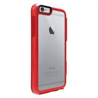 耐衝撃クリアケース OtterBox My Symmetry レッド iPhone 6