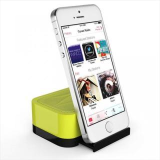 充電式スピーカースタンド スマートフォン & タブレット用 Satechi iFit-1 イエロー