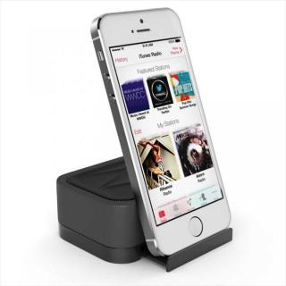 充電式スピーカースタンド スマートフォン & タブレット用 Satechi iFit-1 ブラック