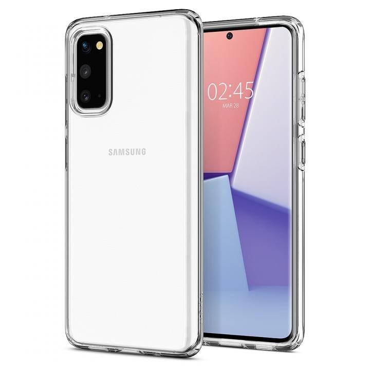 Galaxy S20 ケース Crystal Flex Crystal Clear_0