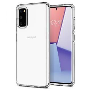 Galaxy S20 ケース Crystal Flex Crystal Clear
