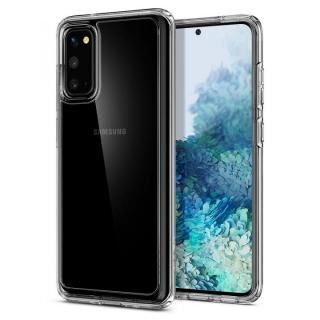 Galaxy S20 ケース Crystal Hybrid Crystal Clear