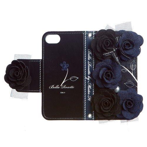 iPhone5/5sケース Bella Rosette Diary 送料無料