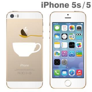 iPhone SE/5s/5 アップラスゴールドハードクリアケース(ティータイム)
