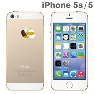 iPhone SE/5s/5 アップラスゴールドハードクリアケース(パンダ)
