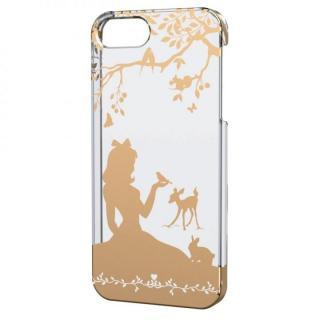 iPhone SE/5s/5用シェルケース(アップルテクスチャゴールド)プリンセス