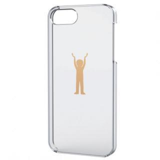 iPhone SE/5s/5用シェルケース(アップルテクスチャゴールド)パワー