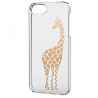 iPhone SE/5s/5用シェルケース(アップルテクスチャゴールド)キリン