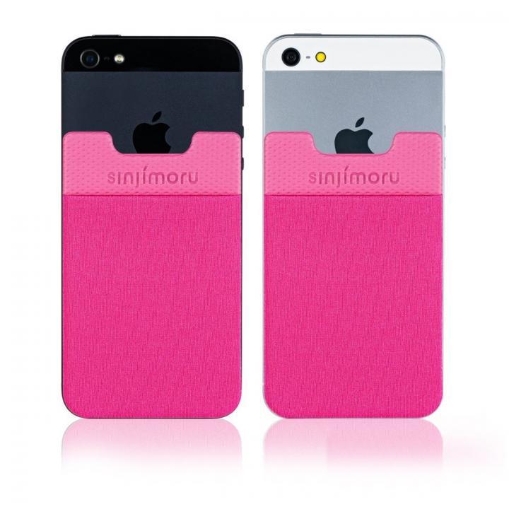 iPhone SE/5s/5 ケース SINJIPOUCH Basic2(シンジポーチベーシック2)ホットピンク エラー防止シート付_0