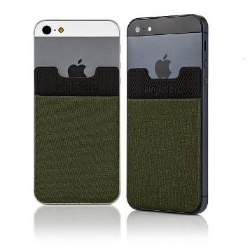 iPhone SE/5s/5 ケース SINJIPOUCH Basic2(シンジポーチベーシック2)カーキ エラー防止シート付_0
