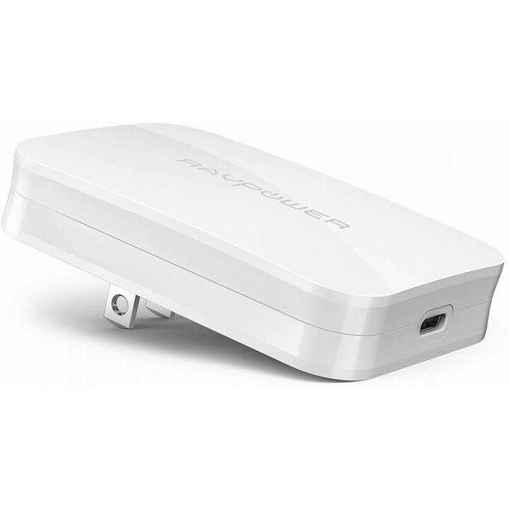 RAVPower USB-C急速充電器 45W/PD対応/超薄デザイン GaN(窒化ガリウム)採用/PD対応 ホワイト_0