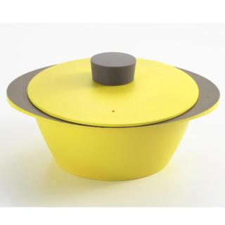 EAトCO NABE アルミ調理鍋 ライムグリーン