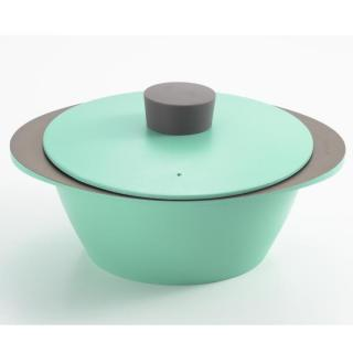 EAトCO NABE アルミ調理鍋 アクアブルー