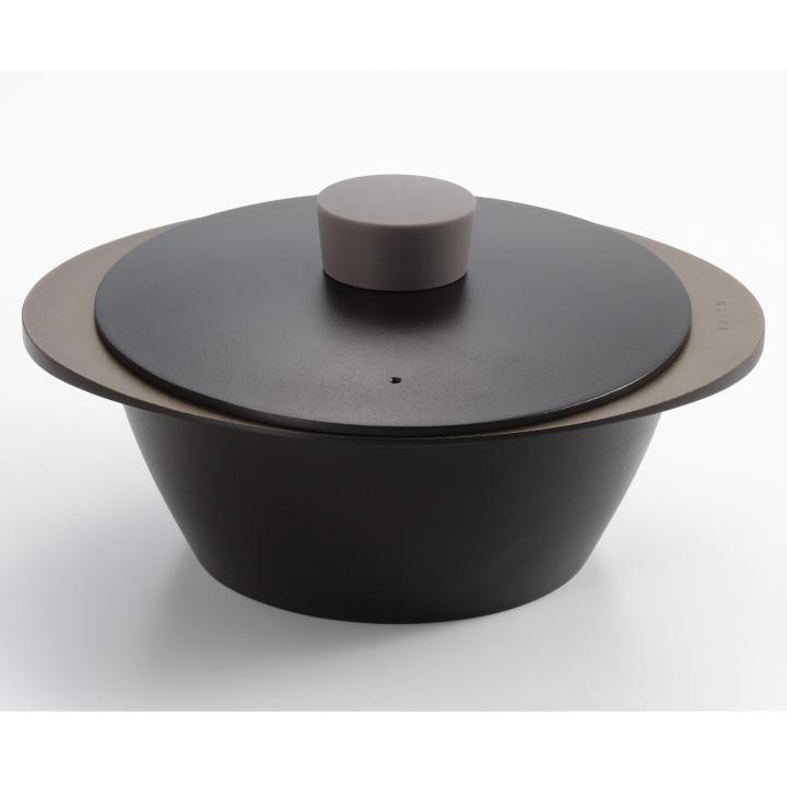 EAトCO NABE アルミ調理鍋 ブラック_0