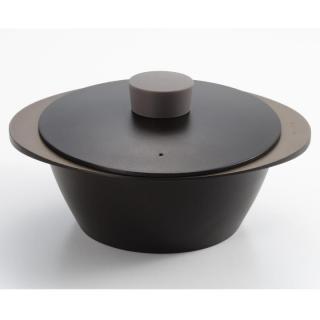 EAトCO NABE アルミ調理鍋 ブラック