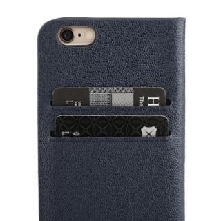 【iPhone6ケース】ICカード対応手帳型ケース Intelligence ネイビー iPhone 6_1
