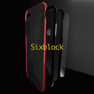 iPhone8/7 ケース Sixblock 耐衝撃ケース レッド iPhone 8/7【4月上旬】
