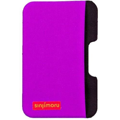 iPhone SE/5s/5 ケース SINJIPOUCH Side(シンジポーチサイド)バイオレット エラー防止シート付_0