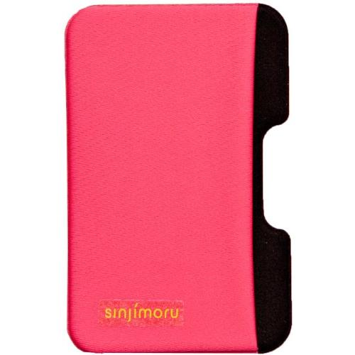 【iPhone SE/5s/5ケース】SINJIPOUCH Side(シンジポーチサイド)ビビッドピンク エラー防止シート付_0